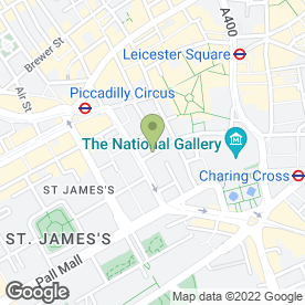 Map of Electrum 2 Recruitment Consultants in London, london