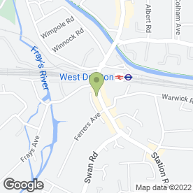 Map of Blue Oyster in West Drayton, middlesex