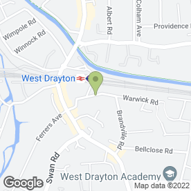 Map of Portable Air Conditioning Solutions Ltd in West Drayton, middlesex