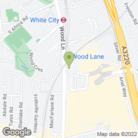 Map of Ciao Baby Cucina in LONDON, london