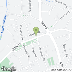 Map of Greggs in Henbury, Bristol, avon
