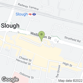 Map of Superdrug Stores plc in Slough, berkshire