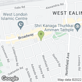 Map of Sunny Cars Minicabs in West Ealing, London, london