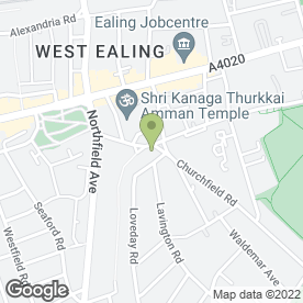 Map of Ealing Domestic Appliance Service in Ealing, London, london