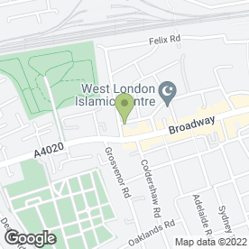 Map of Arnolds Leisure in West Ealing, London, london