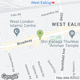 Map of Kepos Systems in Ealing, london