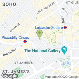 Map of Absolutely Fad Cafe in London, london