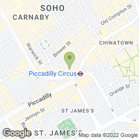Map of Just Donuts in London, london