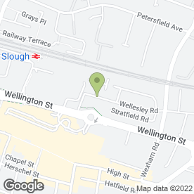 Map of RM Plastering in Slough, berkshire