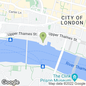 Map of Samuel Pepys Pub in London, london
