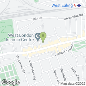 Map of WINAYAK P, PRINJA N, CANACSINH D, SIDDHU H & GOREJA P in West Ealing, London, london