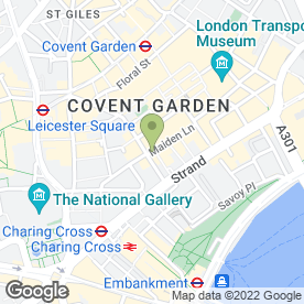 Map of La Tasca in London, london