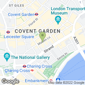 Map of M Reale Solicitors in London, london