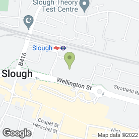 Map of Tesco Extra in Slough, berkshire