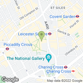 Map of Chiquito Restaurant & Bar in London, london