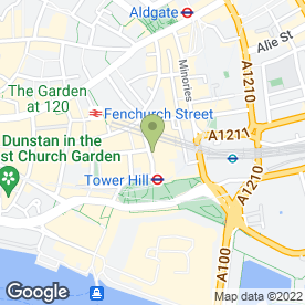 Map of Grange City Hotel in LONDON, london