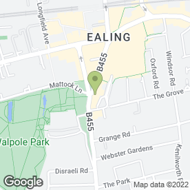 Map of Cafe Rouge in Ealing, London, london