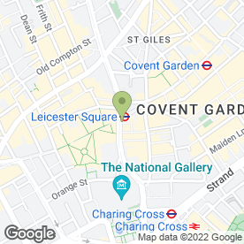 Map of Cafe Rouge in London, london