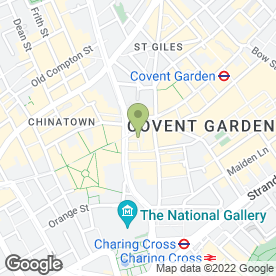 Map of Cafe Koha Bar in London, london