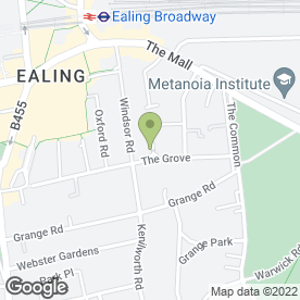 Map of Ealing Painting & Decorating in London, london