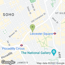 Map of Vietnamese Restaurant in London, london