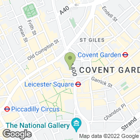 Map of Maiden Tower in London, london