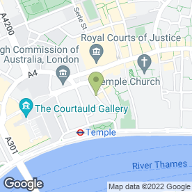 Map of The Cheshire Cheese in London, london