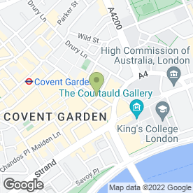 Map of Loch Fyne Restaurants Ltd in London, london