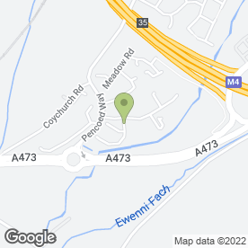 Map of RockIT in Pencoed, Bridgend, mid glamorgan