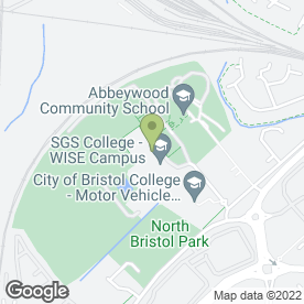 Map of Goals Soccer Centres in Bristol, avon