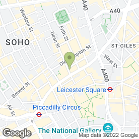 Map of Golden Lion in London, london