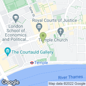 Map of The Devereux in London, london