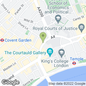 Map of Good Godfrey's in LONDON, london