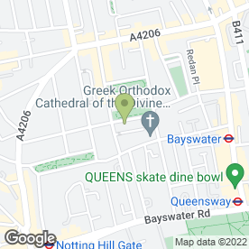 Map of Top Movers (London) in London, london