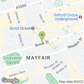 Map of AMI Commercial in Mayfair, London, london
