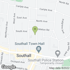 Map of Dr M Alzarrad in Southall, middlesex