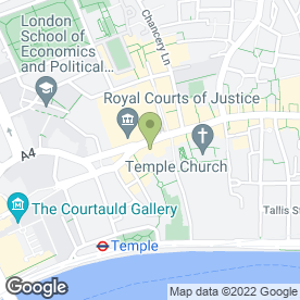 Map of BEAUTY PLACE in London, london