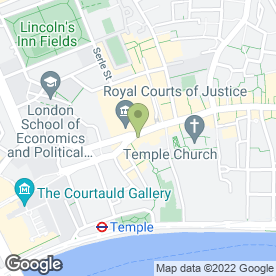 Map of Beyers Family Law Solicitors in London, london