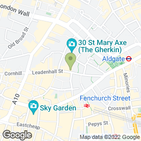 Map of Selsian in London, london