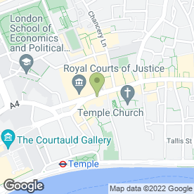 Map of Nalika's Beauty in London, london