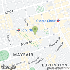 Map of Top Removals in London, london