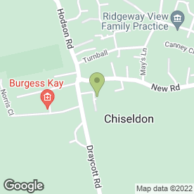 Map of Chiseldon Plumbing & Heating in Chiseldon, Swindon, wiltshire