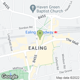 Map of Blacks in Ealing, London, london