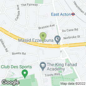 Map of Signs & Blinds in LONDON, london