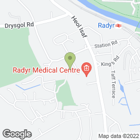 Map of Sabre Vehicle Leasing in Radyr, Cardiff, south glamorgan