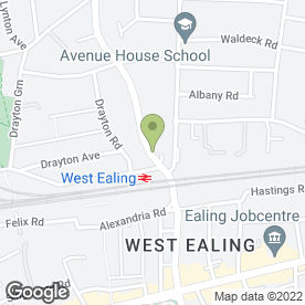 Map of Ceramics Cafe - West Ealing in Ealing, London, london