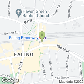 Map of Townhouse in Ealing, London, london