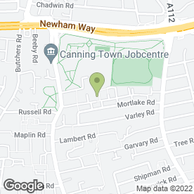 Map of Lulu's Afro & Carribean Catering in London, london