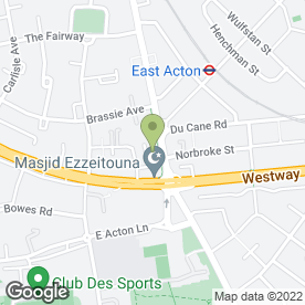 Map of Western Fried Chicken & Ribs in London, london