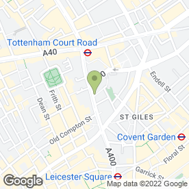 Map of Chipotle Mexican Grill in London, london
